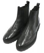 billi bi(ビリーバイ)の古着「サイドゴアブーツ」|ブラック