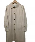 J.PRESS(ジェイプレス)の古着「コットンツイルロング コート」|ベージュ
