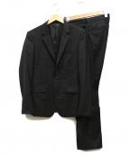LOUNGE LIZARD(ラウンジリザード)の古着「2Bセットアップスーツ」|ブラック