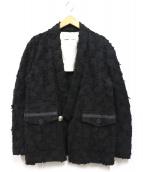 Azuma(アズマ)の古着「CRUST JACQUARD HAORI JACKET」|ブラック