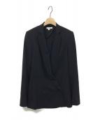 HELMUT LANG(ヘルムートラング)の古着「ウールダブルジャケット」|ブラック