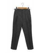TOGA PULLA(トーガプルラ)の古着「タックパンツ」|ブラック