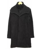 UNDERCOVERISM(アンダーカバーイズム)の古着「切替コート」 ブラック