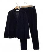 BEAUTY&YOUTH(ビューティアンドユース)の古着「コーデュロイセットアップ」|ネイビー
