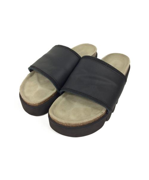 Hender Scheme(エンダースキーマ)Hender Scheme (エンダースキーマ) サンダル ブラック サイズ:Size 6 (27-28㎝) caterpillerの古着・服飾アイテム