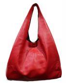 Maison Margiela(メゾンマルジェラ)の古着「ショッパートートバッグ」|レッド