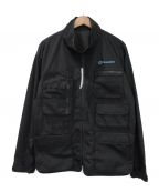 uniform experiment()の古着「20AW MULTI POCKET JACKET」|ブラック