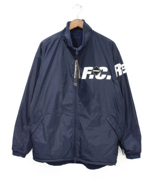 F.C.R.B.(エフシーアールビ)F.C.R.B. (エフシーアールビ) POLARTEC FLEECE REVERSIBLE BLO ネイビー サイズ:L 未使用品の古着・服飾アイテム