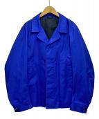 JIL SANDER(ジルサンダー)の古着「ハーフコート」|ブルー