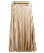 DONEEYU(ドニーユ)の古着「プリーツスカート」|ライトピンク