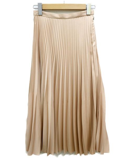 DONEEYU(ドニーユ)DONEEYU (ドニーユ) プリーツスカート ライトピンク サイズ:38 未使用品の古着・服飾アイテム