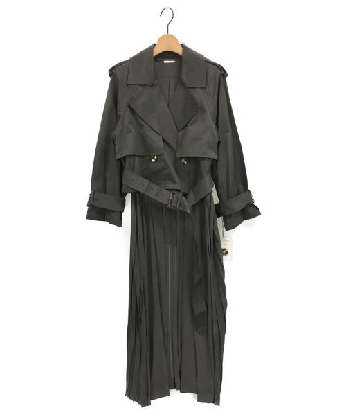 Ameri VINTAGE(アメリビンテージ)Ameri VINTAGE (アメリビンテージ) 3WAY SHEER DOCKING COAT グレー サイズ:F 未使用品の古着・服飾アイテム