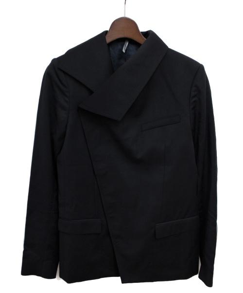 Dior Homme(ディオールオム)Dior Homme (ディオールオム) 変形ジャケット ブラック サイズ:44の古着・服飾アイテム