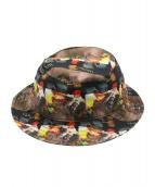 Supreme(シュプリーム)の古着「14SS Reversible Crusher Hat」|ブラック×レッド