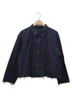 URU(ウル)の古着「カットオフシャツ」|ネイビー