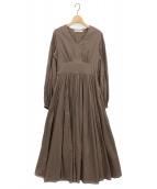MARIHA(マリハ)の古着「少女のドレス」|ブラウン