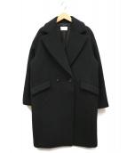 ESTNATION(エストネーション)の古着「ウールコート」|ブラック