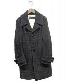 DSQUARED2(ディースクエアード)の古着「ツイードコート」|ブラック