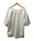 Demi-Luxe Beams(デミルクス ビームス)の古着「バックリボンブラウス」 ホワイト