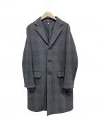filmelange(フィルメランジェ)の古着「チェスターコート」 チャコールグレー