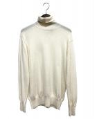 loin(ロイン)の古着「カシミヤ混タートルネックニット」|ホワイト