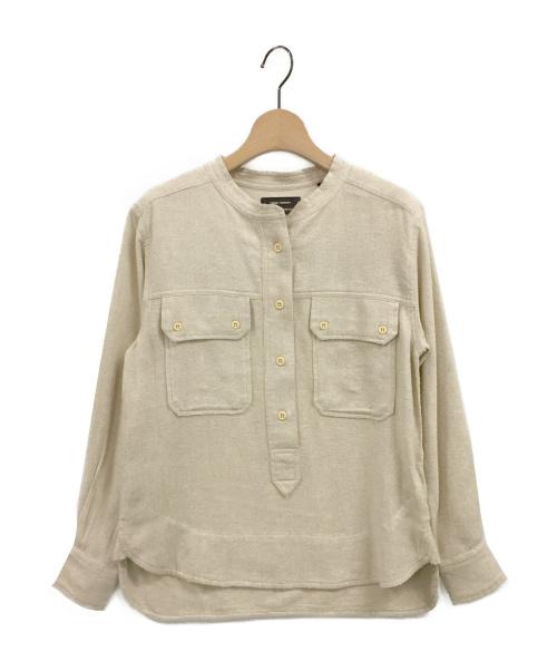 ISABEL MARANT(イザベルマラン)ISABEL MARANT (イザベルマラン) TECOYO プルオーバーシャツ ベージュ サイズ:34の古着・服飾アイテム