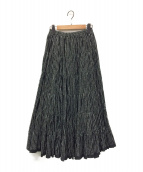 MARIHA(マリハ)の古着「草原の虹のスカート」|ブラック