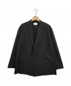 LE PHIL(ル フィル)の古着「ライトタイプライタージャケット」 ブラック