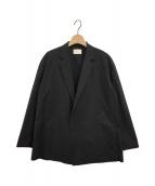 LE PHIL(ル フィル)の古着「ライトタイプライタージャケット」|ブラック