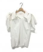AKIRA NAKA(アキラ ナカ)の古着「Gwen shirt」|ホワイト