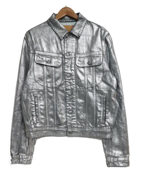 Acne studios(アクネストゥディオス)Acne Studios (アクネステュディオズ) デニムジャケット シルバー サイズ:46の古着・服飾アイテム