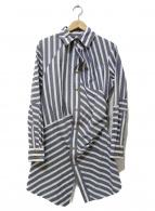 Vivienne Westwood(ヴィヴィアンウエストウッド)の古着「長袖シャツ」|グレー