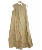 UNITED ARROWS(ユナイテッドアローズ)の古着「セミフレアマキシワンピース」 カーキ