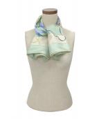 HERMES(エルメス)の古着「シルクスカーフ」|ミント
