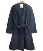 自由区(ジユウク)の古着「CANGIOLIライトコート」|ネイビー