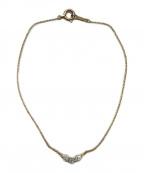 AHKAH()の古着「トレスダイア ブレスレット」|ゴールド