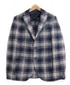 FRADI(フラディ)の古着「ウール2Bジャケット」|ネイビー