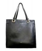 FURLA(フルラ)の古着「リバーシブルトートバッグ」|ブラック