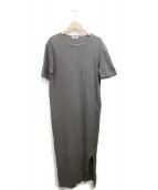 Deuxieme Classe(ドゥーズィエムクラス)の古着「Li/Co マキシ ドレス」|グレー