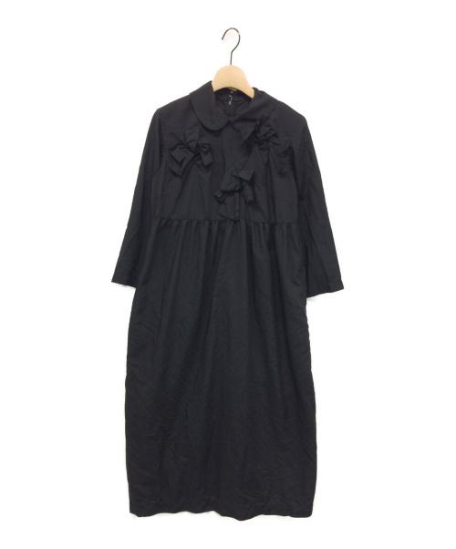 COMME des GARCONS GIRL(コムデギャルソン ガール)COMME des GARCONS GIRL (コムデギャルソン ガール) リボンワンピース ブラック サイズ:Sの古着・服飾アイテム