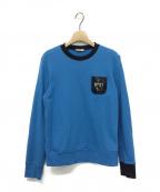 N°21(ヌメロヴェントゥーノ)の古着「スパンコールスウェット」|ブルー