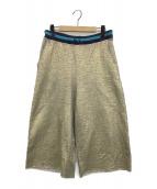 DIESEL(ディーゼル)の古着「スウェットパンツ」|ゴールド