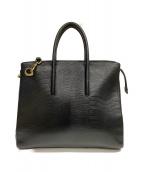 TOFF&LOADSTONE(トフアンドロードストーン)の古着「2WAYハンドバッグ」|ブラック