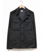 C.P COMPANY(シーピーカンパニー)の古着「ゴーグルジャケット」|ブラック