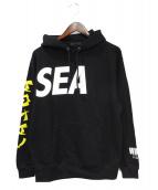 WIND AND SEA(ウィンダンシー)の古着「パーカー」|ブラック