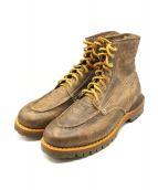 VISVIM(ヴィスヴィム)の古着「 vanguard boots folk 」|ブラウン