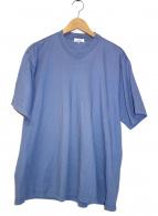 BLAMINK(ブラミンク)の古着「コットンフレアーTシャツ」|ブルー