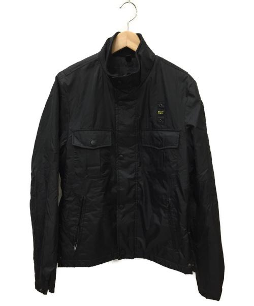 Blauer(ブラウラー)Blauer (ブラウラー) ナイロンジャケット ブラック サイズ:SIZE Sの古着・服飾アイテム