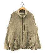 ()の古着「フリースジャケット」|オリーブ