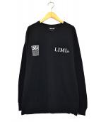 WIND AND SEA LIMI feu(ウィンダンシー×リミ フゥ)の古着「長袖Tシャツ」|ブラック